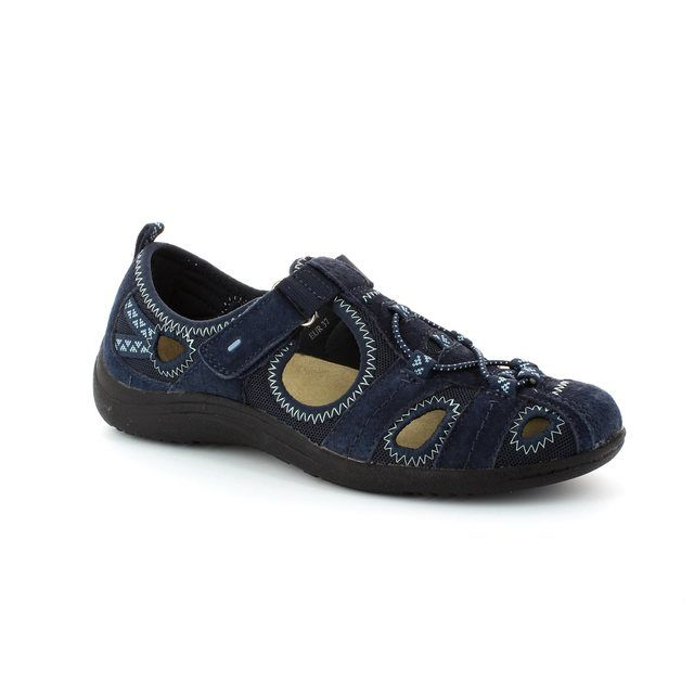 Earth Spirit Wichita 00195-00 Navy lacing shoes