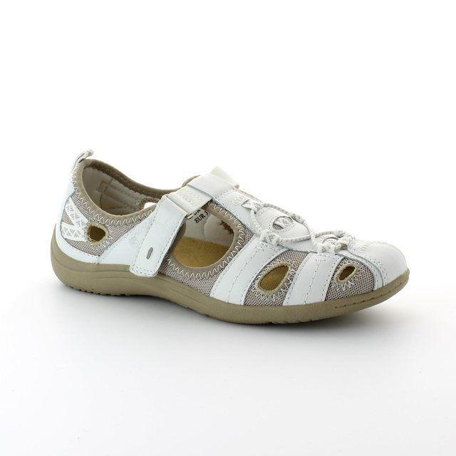 Earth Spirit Wichita 00195-04 White lacing shoes