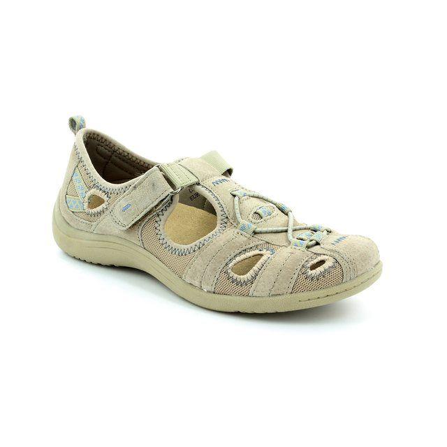 Earth Spirit Wichita 52 21009-10 Beige lacing shoes