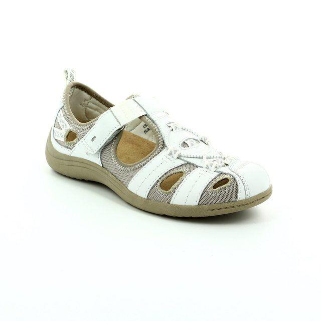 Earth Spirit Wichita 52 21009-60 White lacing shoes