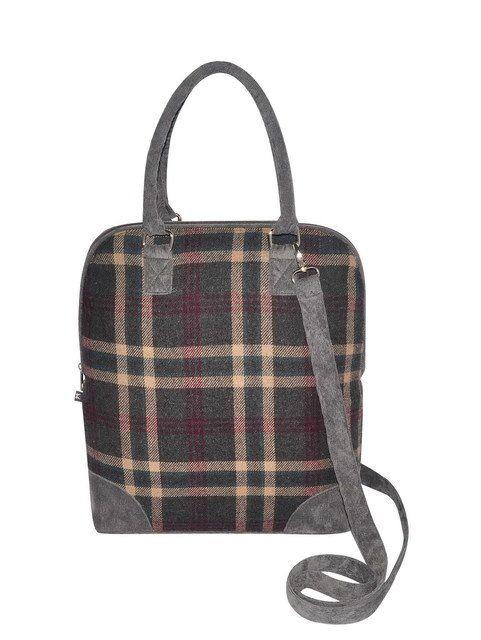 Earth Squared Handbag - Grey multi - 1204/00 MARNIE   TWEED