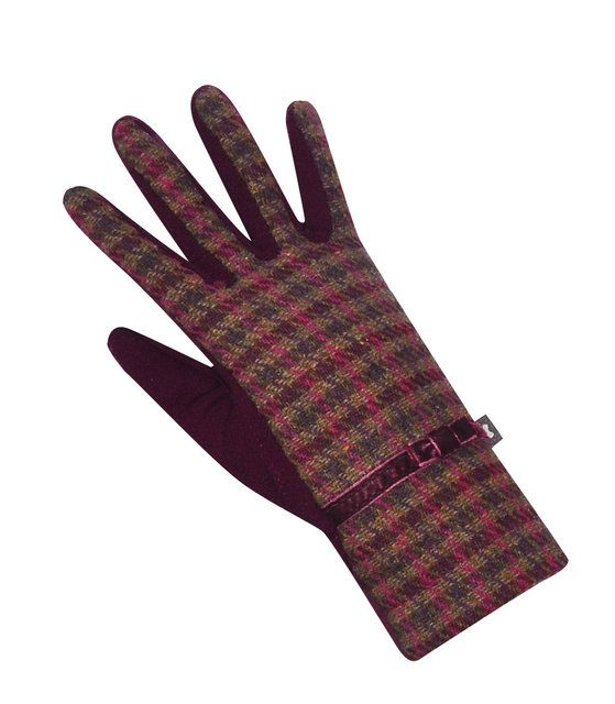 Earth Squared Tweed  Glove 1202-80 Wine bags