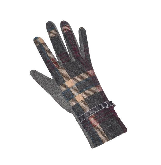 Earth Squared Tweed  Glove 1202-91 Purple bags