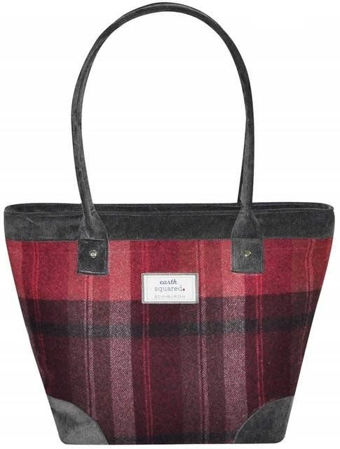 Earth Squared Tweed Tote Bag 1901-80 BERY handbag