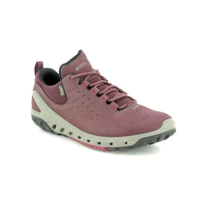 ECCO Walking Shoes - Wine - 820723/01278 BIOM VENTURE SURROUND GORE-TEX