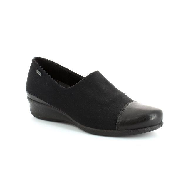 ECCO Abelo Gore 213633-51052 Black lacing shoes