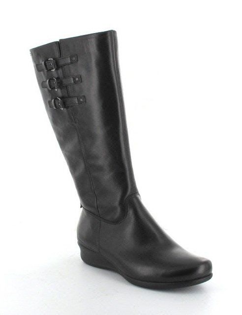 ECCO Abelohi 213593-01001 Black knee-high boots
