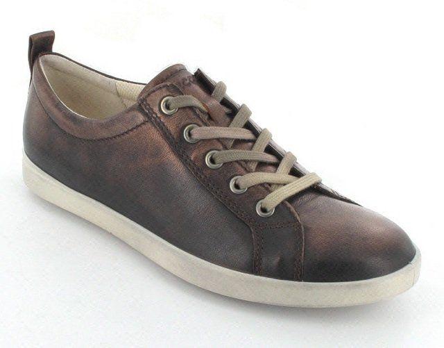 ECCO Aimeel 241123-01053 Bronze lacing shoes