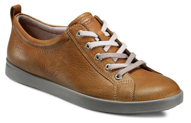 ECCO Aimeel 241123-01112 Tan lacing shoes