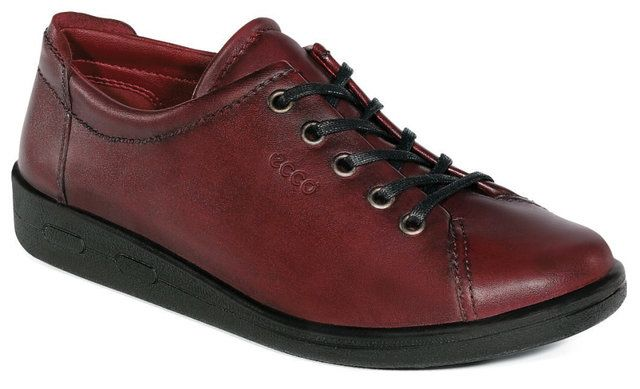 ECCO Also Soft 009473-00165 Red lacing shoes