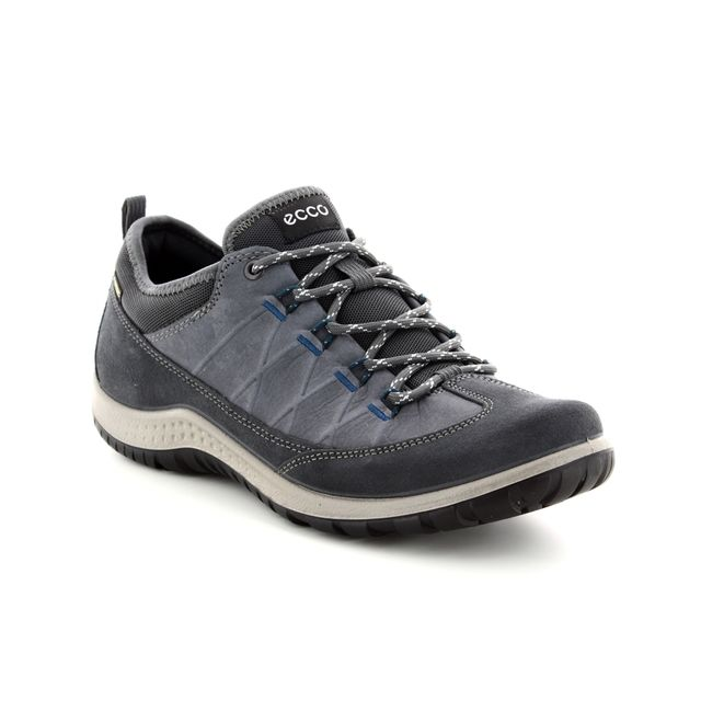 ECCO Walking Shoes - Dark Grey - 838523/01308 ASPINA 82 GORE-TEX