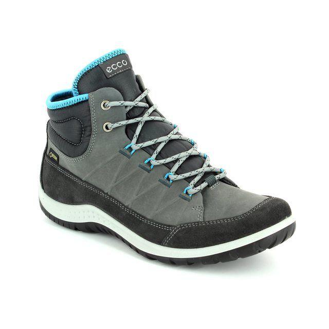ECCO Walking Boots - Grey muti - 838513/57066 ASPINA HI GORE-TEX