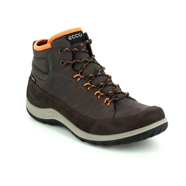 ECCO Walking Boots - Brown multi - 838513/55860 ASPINA HI GORE-TEX