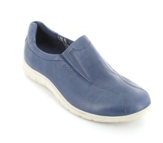 ECCO Babe Rapid 210223-01086 Denim blue lacing shoes