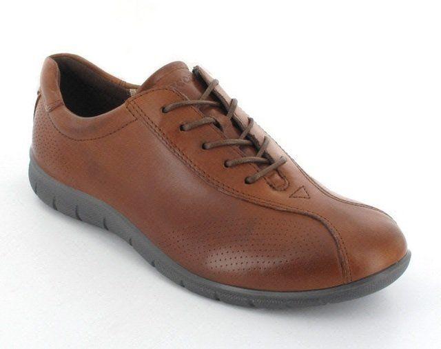 ECCO Babe Waft 210203-01195 Tan lacing shoes