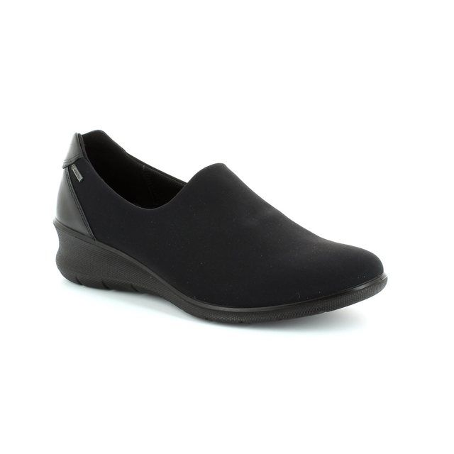 ECCO Babe Wedge Gor 216073-53994 Black comfort shoes