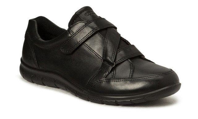 ECCO Babett 210343-01001 Black Velcro Shoes