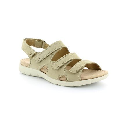 ECCO Babe Tri 214013-02004 Beige Walking Sandals