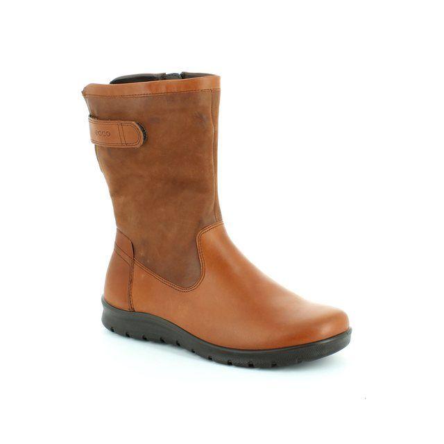 ECCO Babett Boot 215533-56765 Tan knee-high boots