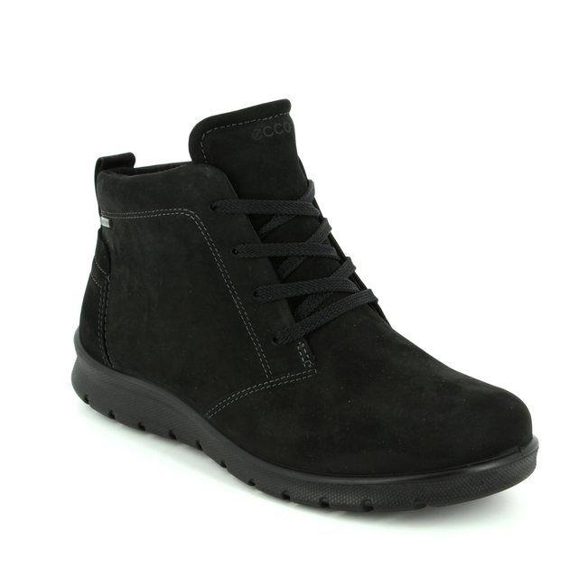 ECCO Ankle Boots - Black nubuck - 215583/02001 BABETT BOOT GORE-TEX