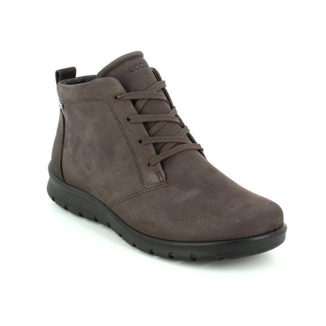 ECCO Ankle Boots - Dark taupe - 215583/02576 BABETT BOOT GORE-TEX