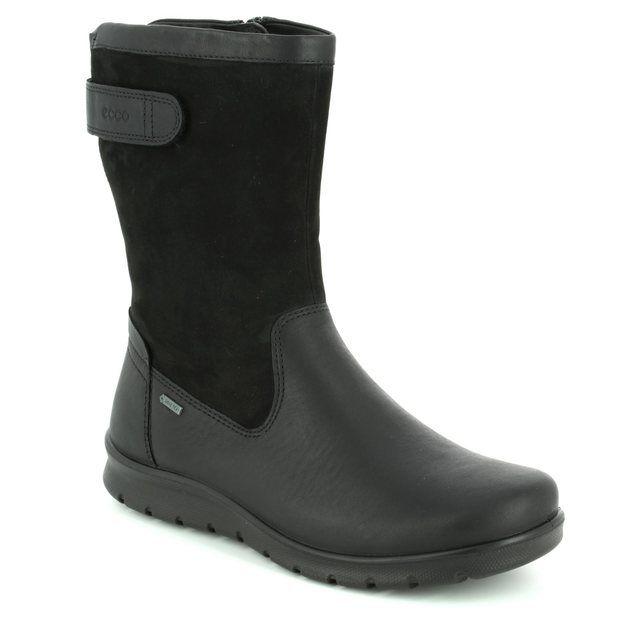 ECCO BABETT BOOT GORE-TEX 215603-01001 Black ankle boots
