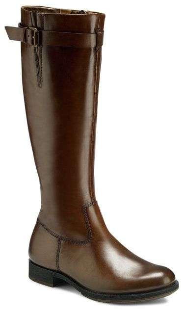 ECCO Balance 234523-01034 Brown knee-high boots