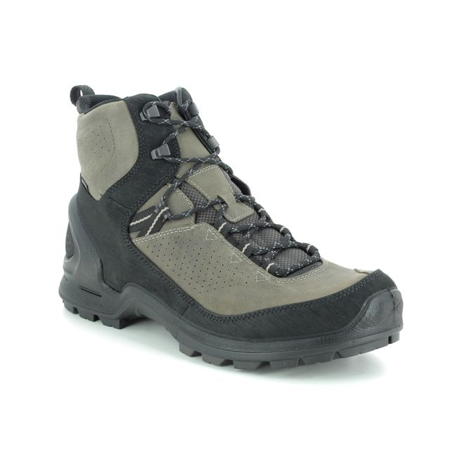 ECCO Boots - Taupe leather - 823584/56665 BIOM TERRA GTX
