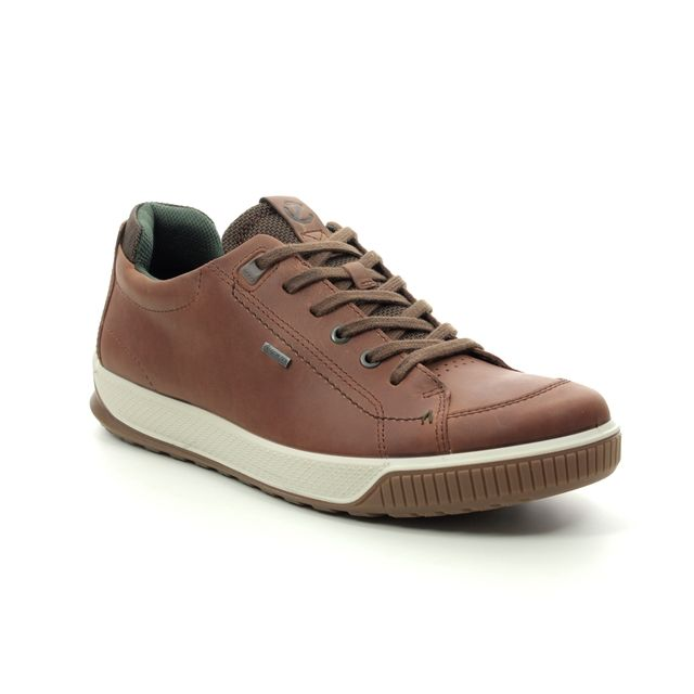 ECCO Casual Shoes - Tan Leather  - 501824/02280 BYWAY TRED GORE