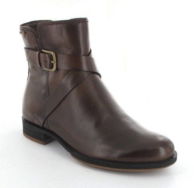 ECCO Canter Gore 234533-11482 Brown ankle boots
