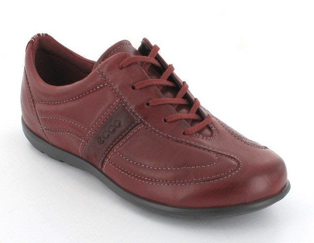 ECCO Cayla 239573-57111 Dark Red lacing shoes