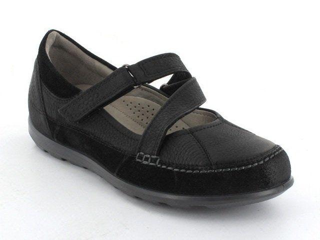 ECCO Caylabar 239503-51052 Black comfort shoes