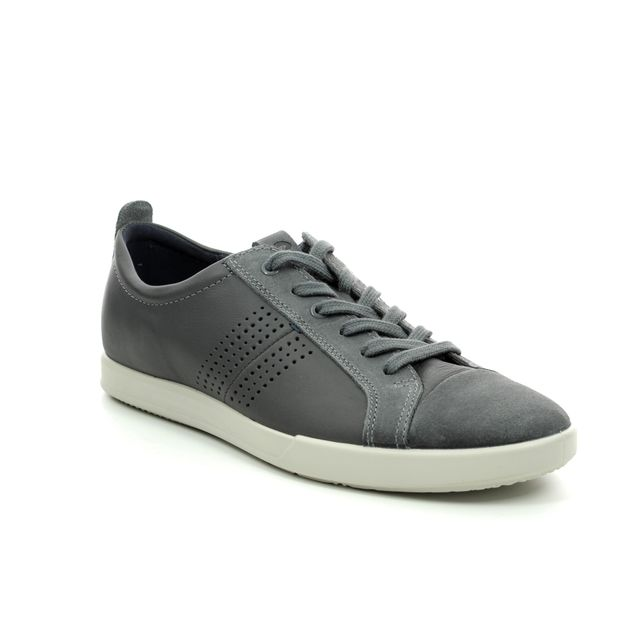 ECCO Trainers - Grey matt leather - 536204/50869 COLLIN 2.0 LACE