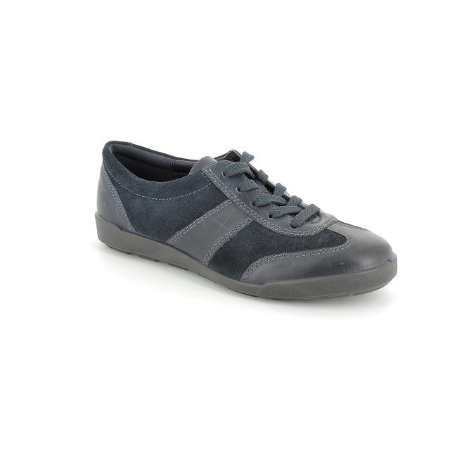 ECCO Crisp 52 214553-50595 Navy lacing shoes