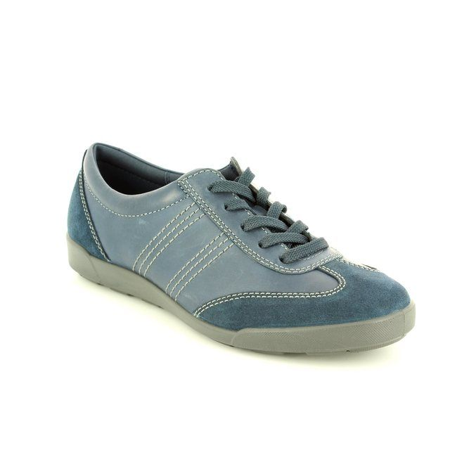 ECCO Crisp 62 214603-50595 Navy lacing shoes