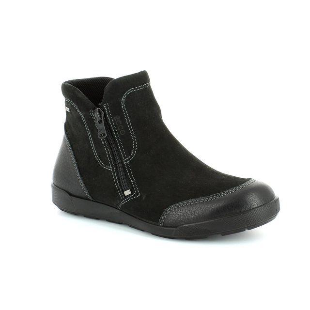 ECCO Ankle Boots - Black - 214523/51707 CRISPBOOT GORE-TEX