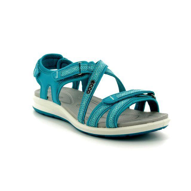 ECCO Walking Sandals - Turquoise - 821853/50890 CRUISE II