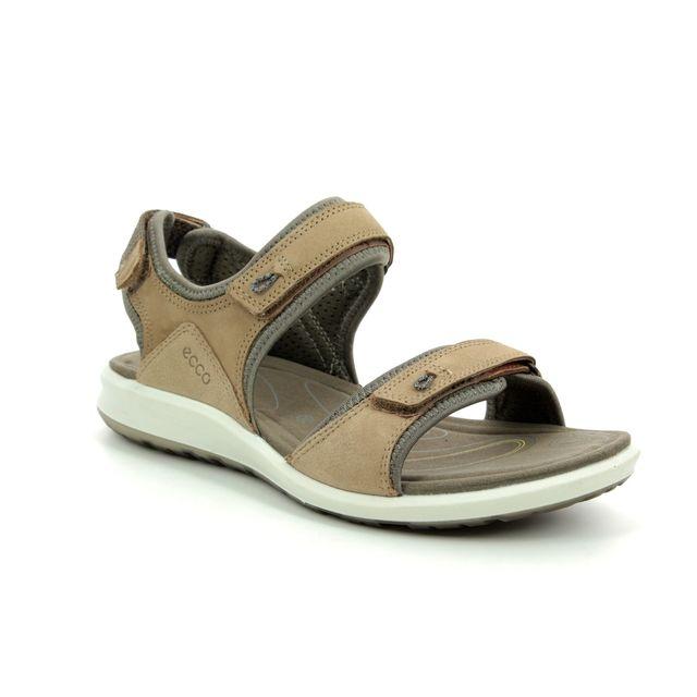 ECCO Walking Sandals - Tan Leather - 821863/50190 CRUISE II STRAP