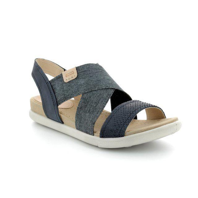 ECCO Damara Sandal 248223-58658 Navy sandals