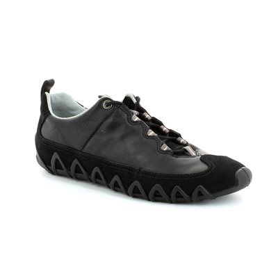 ECCO Dayla 235623-51707 Black lacing shoes