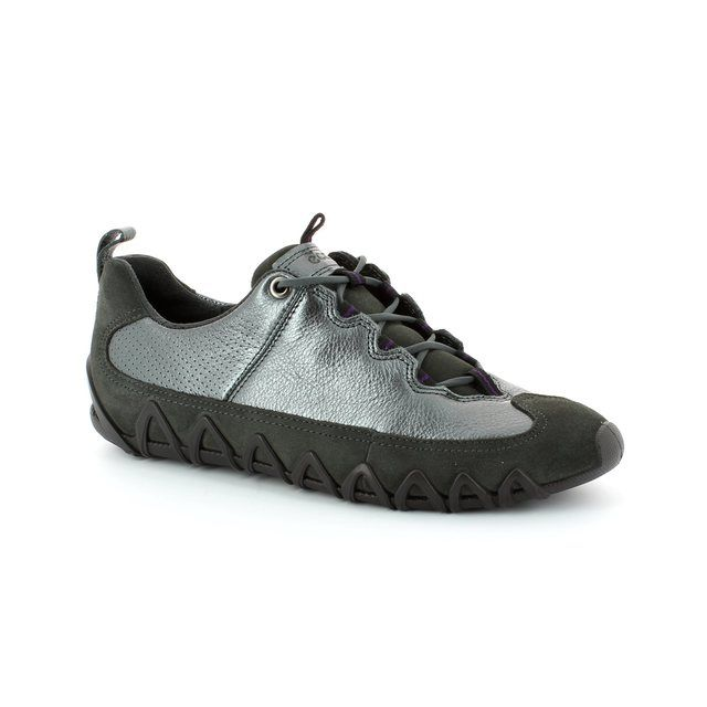 ECCO Dayla 235623-59265 Pewter multi lacing shoes