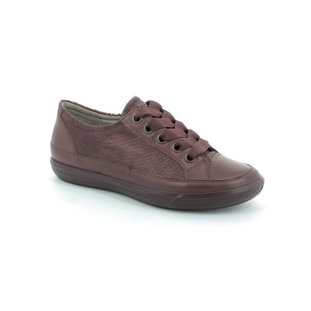 ECCO Dress Sneaker 248703-52999 Wine lacing shoes