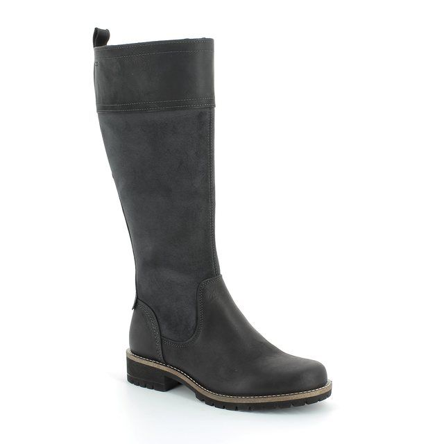 ECCO Elaine Hydroma 244653-51052 Black long boots