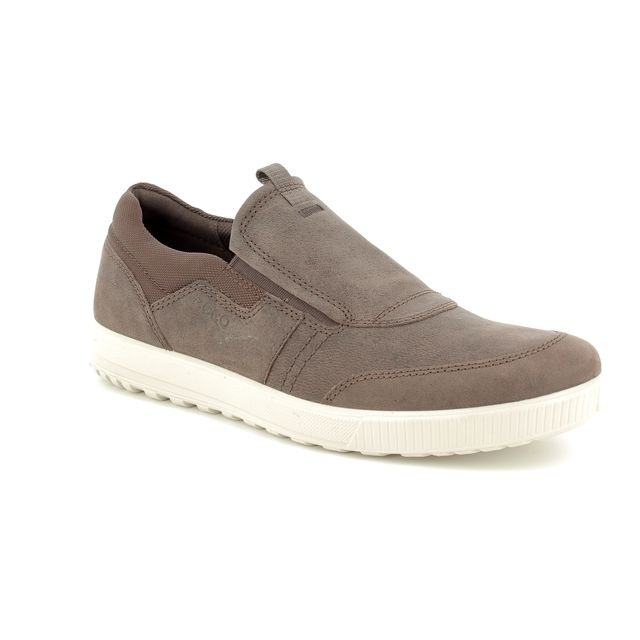 ECCO Casual Shoes - Brown nubuck - 534324/02072 ENNIO SLIP-ON