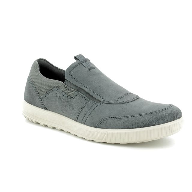 ECCO Casual Shoes - Grey nubuck - 534324/12602 ENNIO SLIP-ON