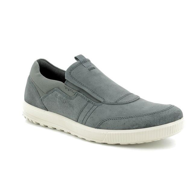 ECCO Casual Shoes - Grey nubuck - 534324/12602 ENNIO SLIP-ON