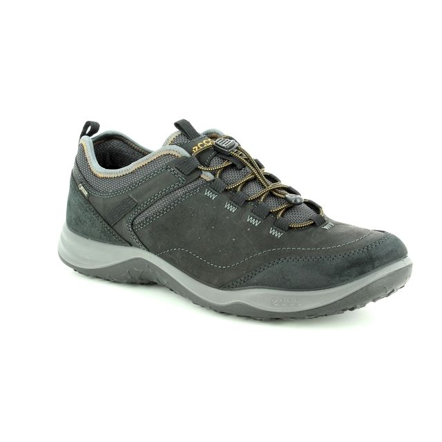 ECCO Casual Shoes - Black leather - 839014/51052 ESPINHO GORE