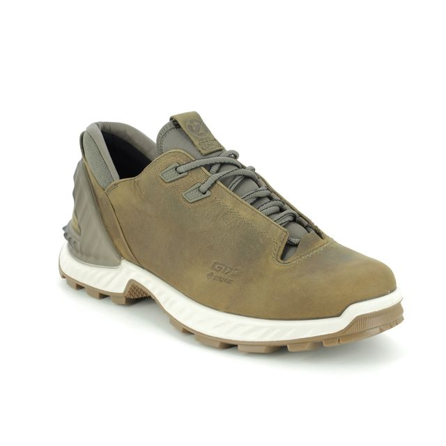 ECCO Trainers - Brown nubuck - 840704/02409 EXOHIKE M GORE