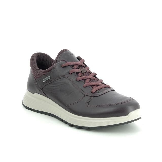 ECCO Trainers - Wine leather - 835303/01385 EXOSTRIDE GORE