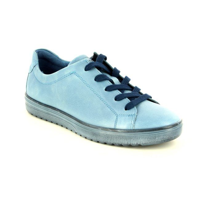ECCO Lacing Shoes - Pale blue - 235383/01118 FARA